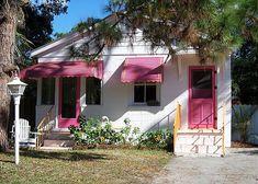 Mermaid Cottages - Pink Flamingo Cottage c1930 -buy a cottage Tybee Island Tybee Island Vacation – Mermaid Cottages
