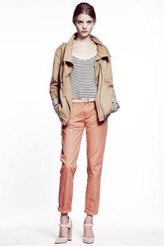 khaki jacket + mary janes