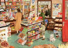 L'épicerie du village