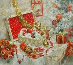 """Занятия по живописи маслом для взрослых. 6 декабря в 10:00.  Тема: """"СЛАДОСТЬ КАРТИН"""". Рождественский натюрморт.  На занятии мы напишем воздушный рождественский натюрморт с кружевами и сладостями в стиле рококо. Задачи, которые будут стоять перед нами – передать пышность, нежность, сладость цветовой гаммы натюрморта при помощи техники «Алла Прима». Ну а после занятия можно будет насладиться натюрмортом, запив его чаем ;) ул .Бажова, 136. 8-912-030-27-39 Елена Треуголка."""