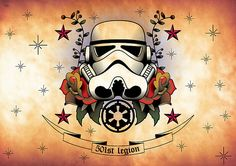Okay so i'm thinking about my first Tattoo and I only want things that kind of reflect me and my life. Star Wars obviously had a huge impact on my childhood.  something like this perhaps/ Thoughts please...............