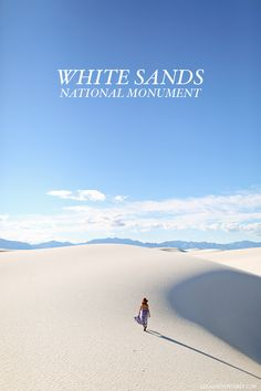 White Sands National Monument - one of the world's greatest natural wonders located an hour outside Las Cruces New Mexico // localadventurer.com