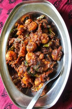 Many of my viewers requested me to post more prawn recipes, since this blog had only one recipe using prawns. I made my prawn fry  a ye...
