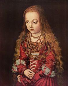 Lucas Cranach the Elder, A Princess of Saxony, 1520.