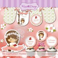 Kit Comunion Flores