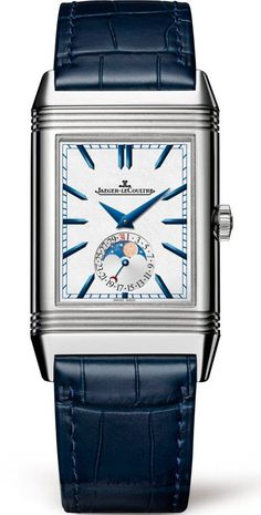 @jaeger Watch Reverso Tribute Moon #add-content #bezel-fixed #bracelet-strap-leather #brand-jaeger-lecoultre #case-depth-10-9mm #case-material-steel #case-width-49-4-x-29-9mm #date-yes #day-night-yes #delivery-timescale-1-2-weeks #dial-colour-silver #gender-mens #gmt-yes #luxury #moon-phase-yes #movement-manual #official-stockist-for-jaeger-lecoultre-watches #packaging-jaeger-lecoultre-watch-packaging #style-dress #subcat-reverso #supplier-model-no-q3958420 #warranty-jaeger-lecoultr...