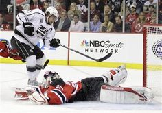 05/30/12: No doubt in my mind - Anze Kopitar would score - With his trademark fake (Kings' Kopitar with the OT goal as LA beats New Jersey 2-1 in Game 1)