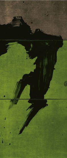 art journal - expression through abstraction — worldartcollection:     Fabienne Verdier