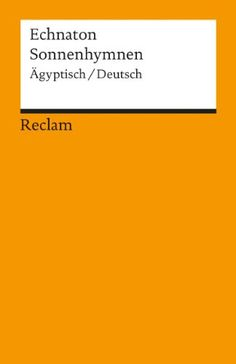 Sonnenhymnen: Ägypt. /Dt.: Amazon.de: Christian Bayer: Bücher