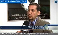 Declaraciones del abogado Miguel Ramírez sobre el taxista que pidió extradición exprés en el caso del agente de la DEA - Colombia Legal Corporation