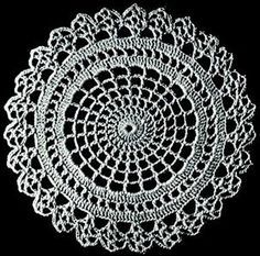 Vintage crochet pattern site... These doily patterns would be great as rugs don't you think?