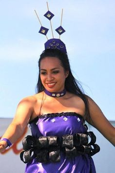 Tongan dancer