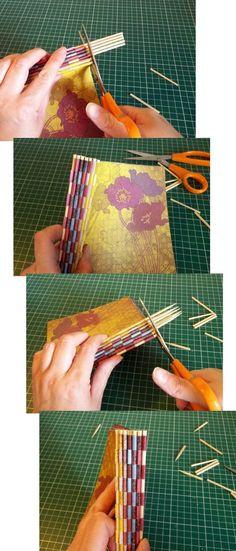 Things to make and do - Piano-hinge Book