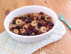 Havermout & fruit uit de oven