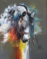 obras de arte caballos en oleo - Buscar con Google