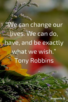 You can change your life by changing your thoughts. Read my blog post to discover the power of positive thinking