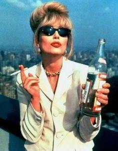 Joanna Lumley as Patsy Stone. Sweetie, darling.