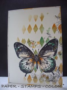 PAPER - STAMPS - COLOR: Just one layer