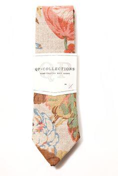 Floral Necktie