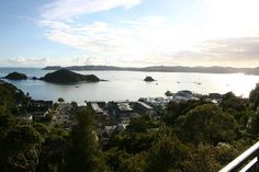 Allegra House, Paihia, New Zealand: View of the bay from our balcony