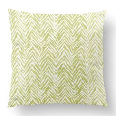 "18"" Custom Outdoor Zebra Cushion  Zebra Item# CC-OD0008 100% Polyester Cover 100% Polyester Fill Green Custom Outdoor Cushions, Fill, Throw Pillows, Cover, Green, Prints, Design, Toss Pillows, Cushions"