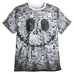 Step out in spooky The Nightmare Before Christmas style with this cool Jack Skellington t-shirt! Made from super soft fabric, it features a bold all-over print with intricate artwork of your Halloweentown favourites. Jack Skellington, Disney Merchandise, Christmas Fashion, Halloween Town, Nightmare Before Christmas, Cool Tees, Soft Fabrics, Kids Fashion, Men Casual