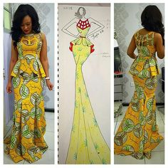 Click here for latest Ankara Styles>>http://www.dezangozone.com iwear_african (I wear African) on Instagram