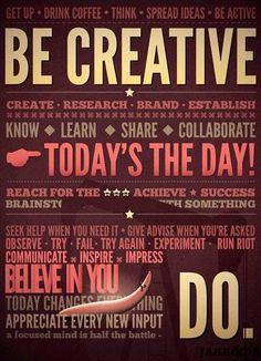 Creativity quotes via www.Facebook.com/SkillShare