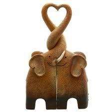 Image result for wooden elephants