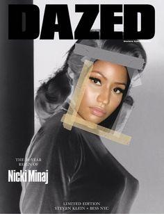 Nicki Minaj Dazed Cover 2017