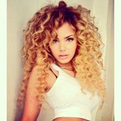 Bos krullen #Hair