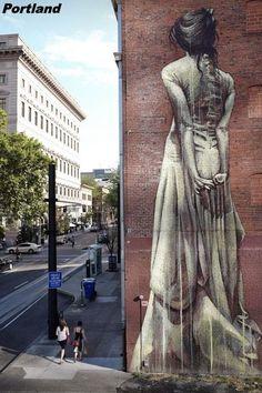 Peintures sur façade - Portland