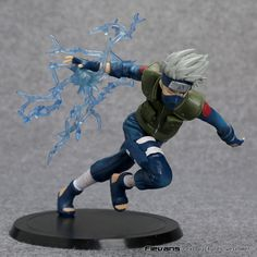 Anime Naruto Hatake Kakashi Running Tsume Xtra Ver. PVC Figure Collectible Model Toy 14cm without box