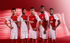 Camisas do AS Monaco 2016-2017 Nike
