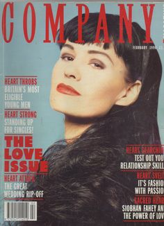A while ago I was thinking that Siobhan Fahey had never been on the cover of a magazine alone. My brother thought it was Jessie J. Siobhan Fahey after leaving Bananarama. I was talking to my Graphic. Shakespears Sister, Brother, Siobhan Fahey, Love Test, Say Hey, The Way I Feel, Jessie J, The Heart Of Man, Female Singers