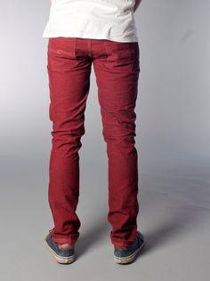 Grim Tim Organic Red Cord - Nudie Jeans Co Online Shop