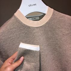 cotonblanc: Cashmere, viscose and cotton knit jumper, Céline