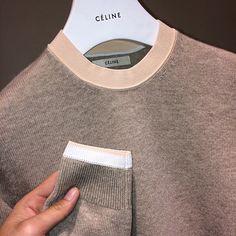 cotonblanc: Cashmere, viscose and cotton knit jumper, Céline