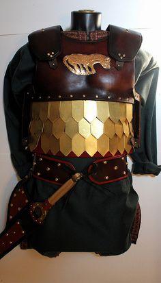Scythian armor by mpfilmcraft, via Flickr