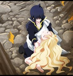 Zeref and Mavis Chapter 450 Fairy Tail by Arte Fairy Tail, Natsu Fairy Tail, Fairy Tail Ships, Fairy Tail Anime, Zeref Dragneel, Gruvia, Tokyo Ghoul, Couples Fairy Tail, Fairy Tail Dragon Slayer