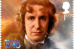 8th Doctor - Doctor Who 50th stamps - Imgur