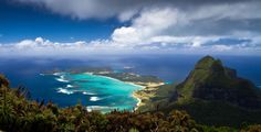 The view from Lord Howe Island's Mt Gower. The walk to the top is considered one of the worlds' best day treks.     Photo credit: Jack Shick