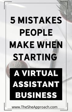 If you are a Virtual Assistant or you just start a Virtual Assistant Business you need to know how important it is to avoid some mistakes! In this post I will show you 5 mistakes that people make when starting a Virtual Assistant Business & how you can avoid this kind of mistakes - Read the post on my Blog for more informations! #virtualassistanttips #bloggingtips #freelancingtips New Business Ideas, Starting A Business, Business Tips, Online Job Opportunities, Retirement Quotes, Work From Home Tips, Earn Money From Home, Online Earning, Online Work