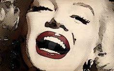 نتيجة بحث الصور عن صور مارلين مونرو هلوجرام Marilyn Monroe Pop Art, Mixed Media Faces, Suede Mini Skirt, Black Women Art, Female Art, Halloween Face Makeup, Image, Woman Art