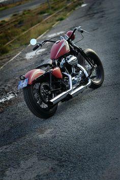 SPORTSTER BOBBER 48 | Graffi-bike Concept
