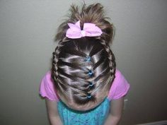 French Braids with Flair from Princess Hairstyles