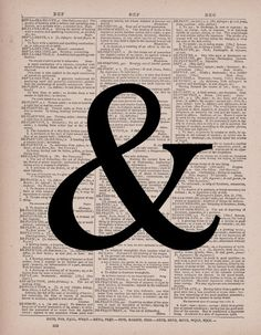 Love this idea of printing on old dictionary pages, it would be fun to put the baby's initial on one.