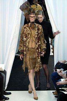 Jean Paul Gaultier Spring 2004 Couture Fashion Show - Jean Paul Gaultier, Catherine Stenshagen (NATHALIE)