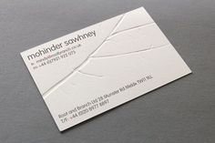 root+branch businesscard by kentlyons