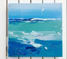 Oceano vela di pittura pittura piccola nautica di KikArtPaintings